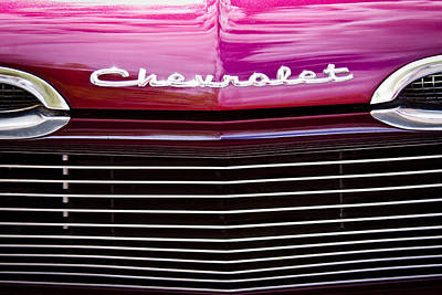 Automobile Photograph - 1959 Chevy Biscayne by David Patterson