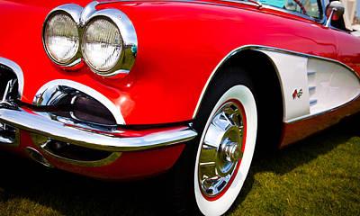 Corvette Photograph - 1959 Chevy Corvette by David Patterson
