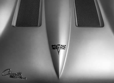 Photograph - 1959 Corvette Stingray Special Racer by James Howe