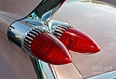 1959 Eldorado Taillights Art Print