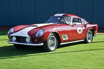 1959 Ferrari 250 Gt Lwb Berlinetta Tdf Art Print