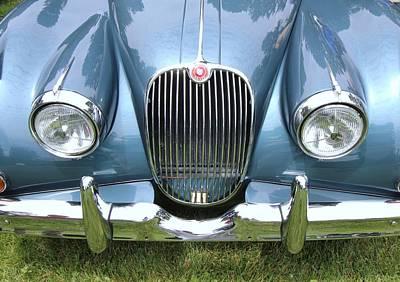 Photograph - 1959 Jaguar Xk 150 by Allen Beatty