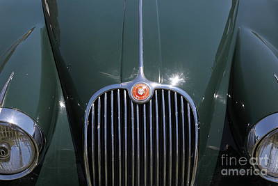 1959 Jaguar Xk150 Dhc 5d23301 Art Print by Wingsdomain Art and Photography