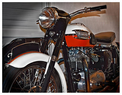 Photograph - 1959 Triumph Motorcycle by Steve Benefiel