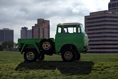 Photograph - 1959 Willis Jeep Fc170 Pickup Truck by Tim McCullough