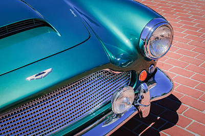 1960 Photograph - 1960 Aston Martin Db4 Series II Grille by Jill Reger