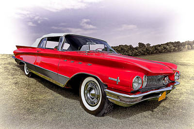Auto Photograph - 1960 Buick Electra by Marcia Colelli