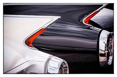 1960 Cadillac Curves Art Print