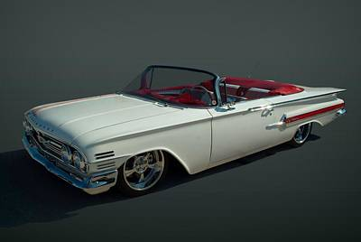 Photograph - 1960 Chevrolet Impala Convertible by Tim McCullough