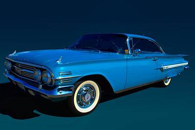 Photograph - 1960 Chevrolet Impala by Tim McCullough