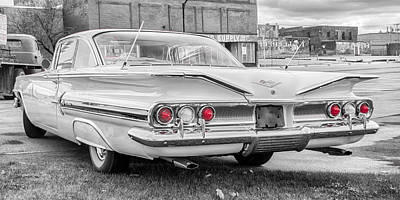 Photograph - 1960 Chevy Impala   7d08509 by Guy Whiteley