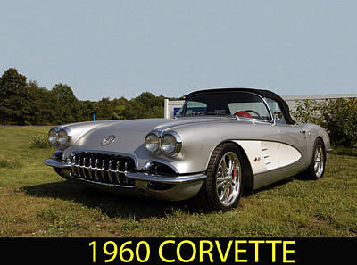 Photograph - 1960 Corvette by George Miller
