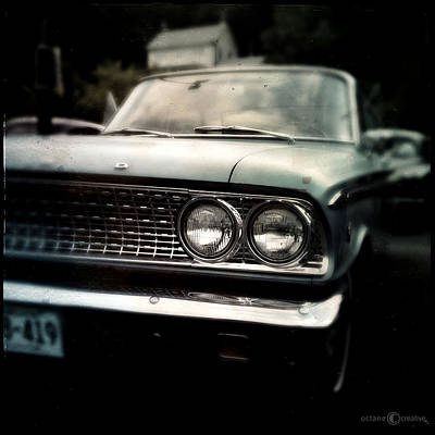 Airplane Paintings - 1960 Ford Fairlane by Tim Nyberg
