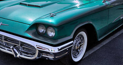 Animals Photos - 1960 Ford Thunderbird by David Patterson