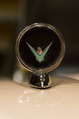Emblem Photograph - 1960 Ford Thunderbird Hood Ornament by J Darrell Hutto