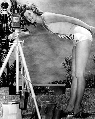 1960 Miss Universe Contestant Print by Retro Images Archive