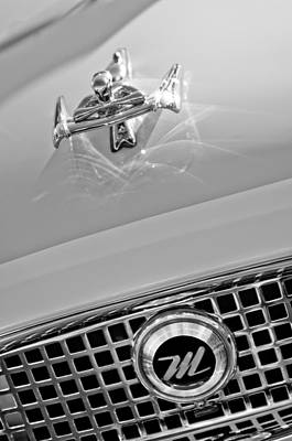 Photograph - 1960 Nash Metropolitan Hood Ornament by Jill Reger