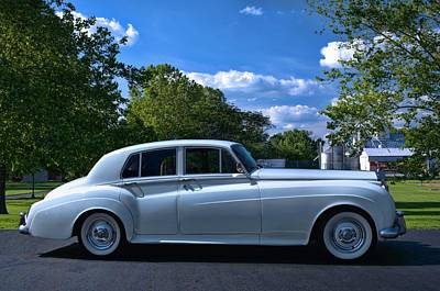 Photograph - 1960 Rolls Royce Silver Cloud II by Tim McCullough