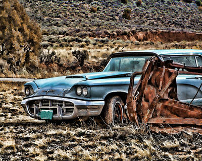 Photograph - 1960 T Bird by Ron Roberts