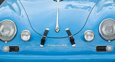 1960 Volkswagen Porsche 356 Carrera Gs Gt Replica  Art Print by Jill Reger