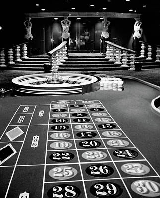 1960s Casino Viewed From End Art Print