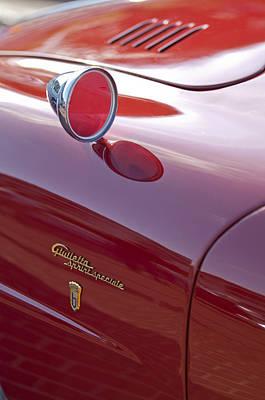 Alfa Romeo Photograph - 1961 Alfa Romeo Giulietta Sprint Speciale Emblem by Jill Reger