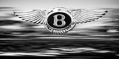 Photograph - 1961 Bentley S2 Continental - Flying Spur ' Emblem by Jill Reger
