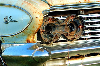 Photograph - 1961 Buick Lesabre by Ron Haist