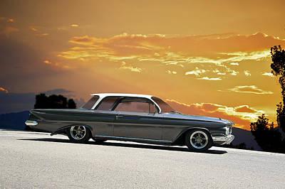 Chevrolet Biscayne Photograph - 1961 Chevrolet Biscayne by Dave Koontz