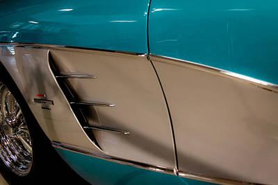 1961 Chevrolet Corvette Print by David Patterson