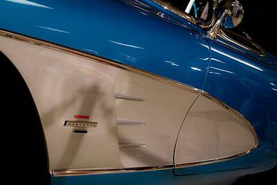 1961 Chevrolet Corvette V Art Print by David Patterson