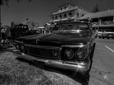 Photograph - 1961 Chrysler Imperial 002 by Lance Vaughn