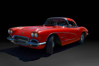 Photograph - 1961 Corvette by Tim McCullough