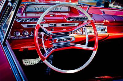 Photograph - 1961 Dodge Phoenix Steering Wheel by Jill Reger