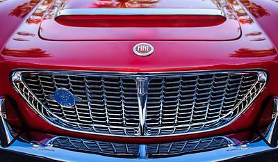 Photograph - 1961 Fiat Osca 1500s Spider Grille Emblem by Jill Reger