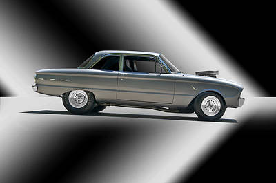 1961 Ford 'normally Aspirated' Falcon Art Print by Dave Koontz