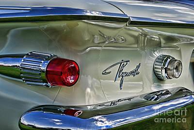 Fury Photograph - 1961 Plymouth Fury by Paul Ward