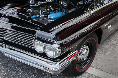 Street Rod Photograph - 1961 Pontiac Catalina 421 by Rich Franco