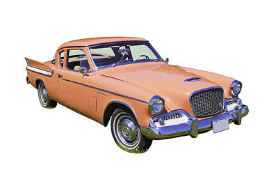 1961 Studebaker Hawk Coupe Art Print