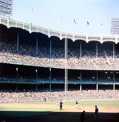 Yankee Stadium Photograph - 1961 World Series by Retro Images Archive
