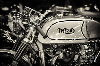 Photograph - 1962 650cc Triton  by Tim Gainey