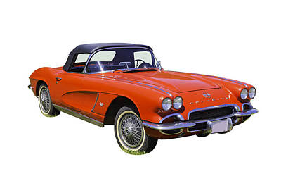 Photograph - 1962 Chevrolet Corvette Convertible by Keith Webber Jr