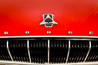 Photograph - 1962 Dodge Polara 500 Emblem by Jill Reger