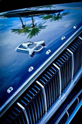 Photograph - 1962 Dodge Polara 500 Grille - Hood Emblem by Jill Reger