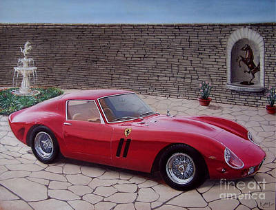 1962 Ferrari 250 Gto Art Print