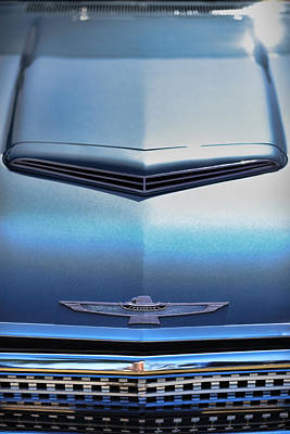1962 Ford Thunderbird Print by Gordon Dean II
