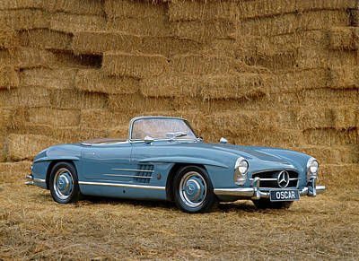 Peterson Photograph - 1962 Mercedes Benz 300sl Roadster, 3.0 by Panoramic Images