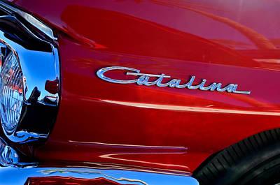 Photograph - 1962 Pontiac Catalina Sd Side Emblem by Jill Reger