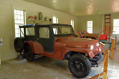 Photograph - 1962 Willys Jeep by Bob Sample