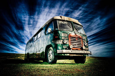 1963 Bedford Motorhome Art Print by Phil 'motography' Clark
